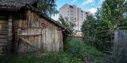 Частные постройки в Минске